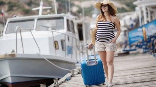 7 recomendaciones para viajar estando embarazada