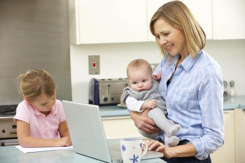 Que el trabajo no mengüe el disfrute de la maternidad