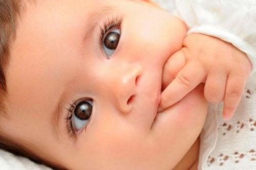 7 consejos para evitar que el niño se chupe el dedo