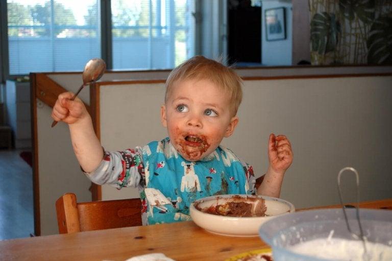 Comer es toda una experiencia para tu bebé