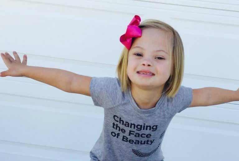 Sofía, la niña con síndrome de Down que conmueve al mundo