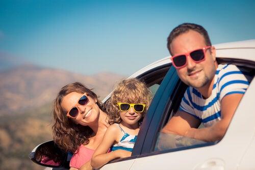 Planeando un viaje de vacaciones con niños