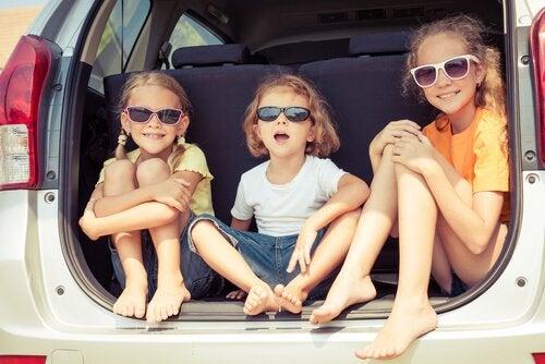 Ir de vacaciones con niños es desgastante, pero también es una gran experiencia.