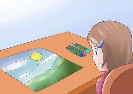 autonomia del bambino che fa i compiti