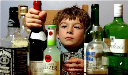 ¿Cómo afecta el consumo de alcohol a los menores?
