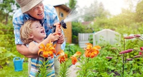 Los niños pueden involucrarse y divertirse con la idea de tener una planta de semillas en casa.