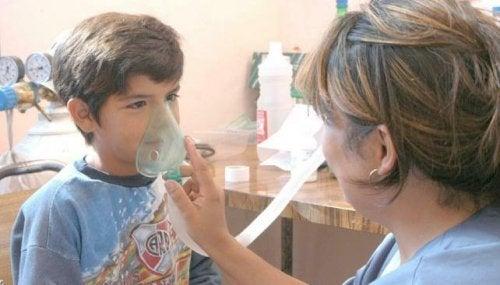 Aspecto psicológicos del asma infantil.