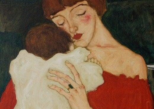 - beb C3 A9 con mama - O cérebro do bebê amadurece de dentro para fora e a chave é AMOR