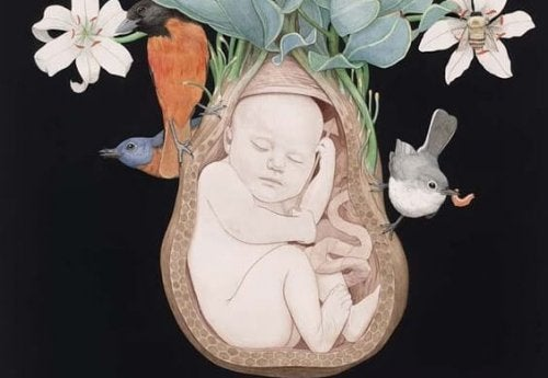 Hay bebés que salvan la vida de sus mamás