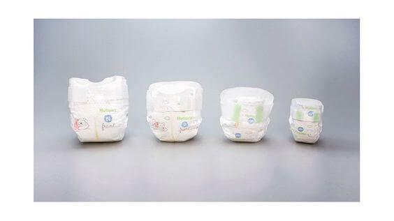 Pañales para bebés prematuros.