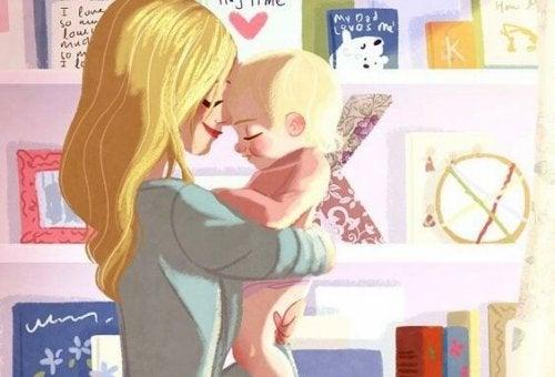 Yo también lo hago, despierto a mi hijo con besos
