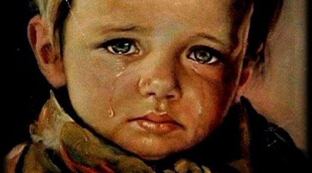 Tus lágrimas causan heridas en mi corazón