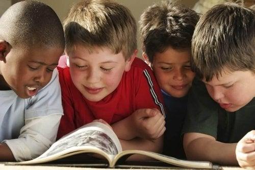 Los cómics, otro tipo de lectura para los niños.
