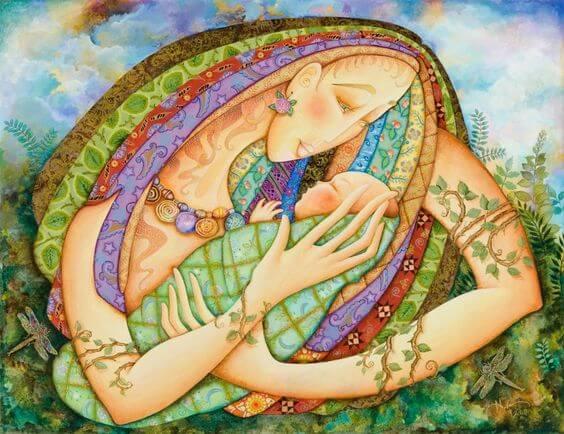 Dormir siestas en brazos de mamá no tiene precio
