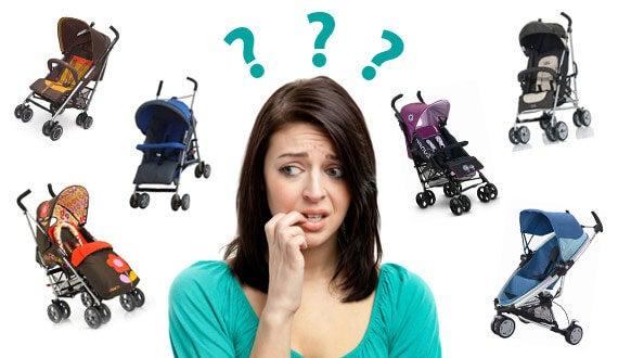 Cómo elegir un buen coche de bebé