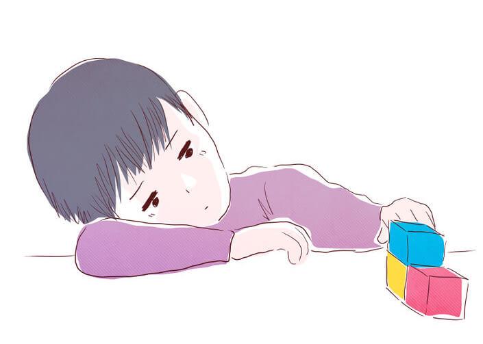 El extraño síntoma de depresión infantil