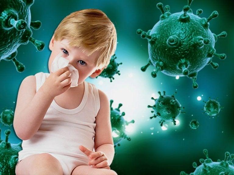 5 Errores que cometemos ante las enfermedades  de los niños