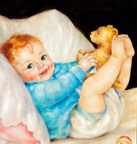 Hijo, cuando sonríes borras la tristeza e iluminas mi esperanza