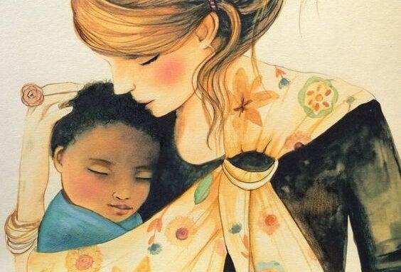 Las mamás que cuidan de sus hijos también son mujeres trabajadoras