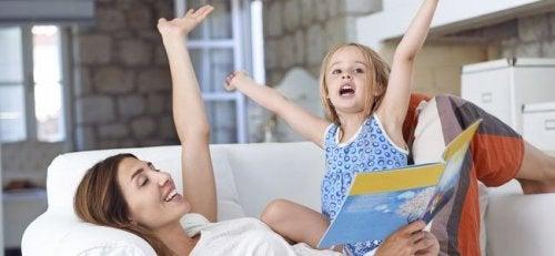 Actividades para motivar a los niños a la lectura.