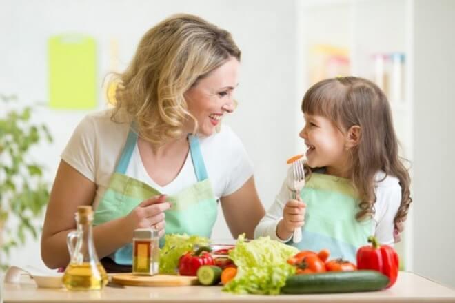 7 beneficios de la dieta mediterránea en los niños