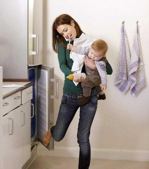10 Consejos para madres que se quedan sin tiempo