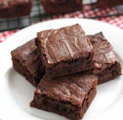 Receta ideal para niños: brownie al microondas
