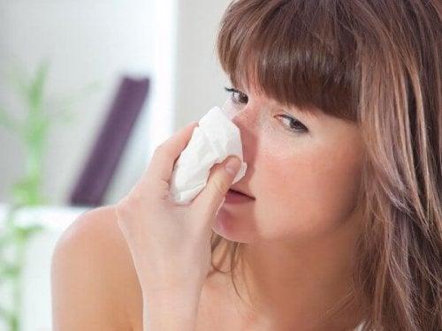 Alergias primaverales durante el embarazo