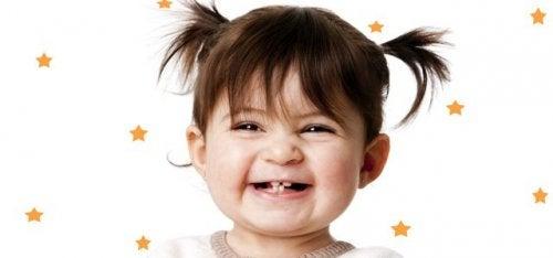 Todo lo que debes saber sobre los dientes de leche