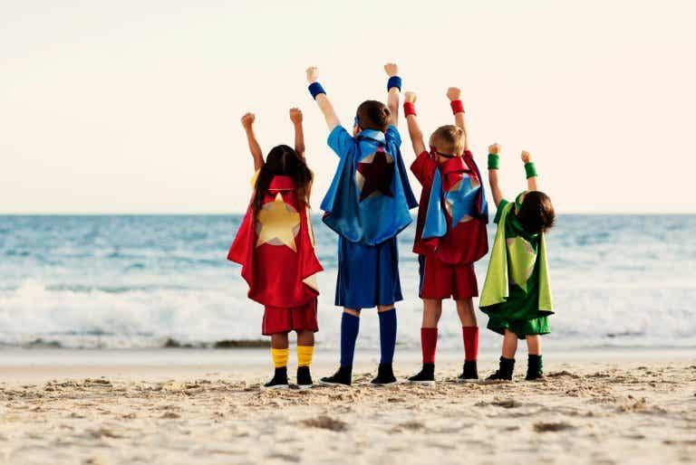 ¿Por qué los superhéroes son importantes para los niños?