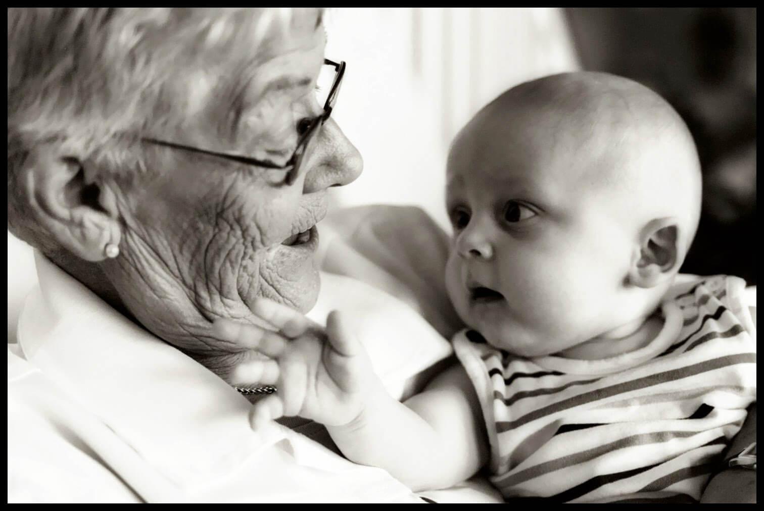 Con la herencia genética de las abuelas