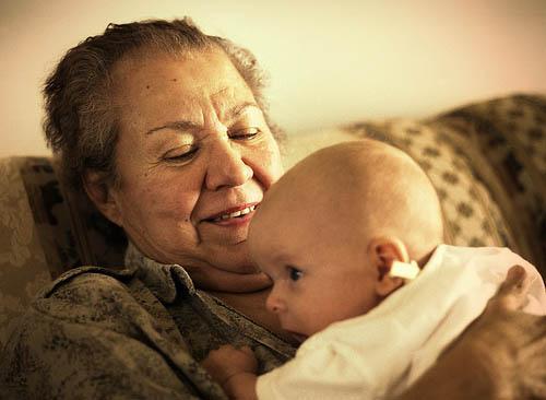 Herança genética das avós