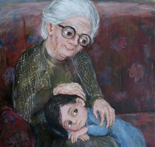 Mi abuela, la más bonita estrella en el cielo