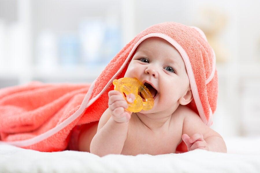 El primer diente de mi bebé