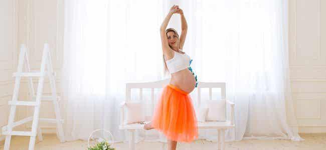 Te gusta bailar pero estás embarazada. ¿Qué te detiene?