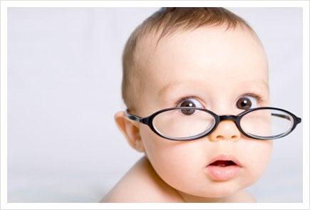 ¿Cuándo empiezan a ver los bebés?