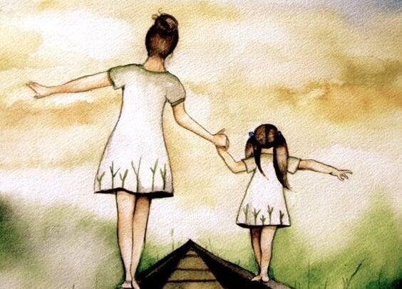 madre que va despacito con su hija