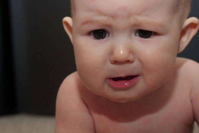Qué hacer si tu bebé tiene vómitos