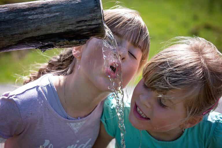 Cómo aliviar los efectos del calor en los niños