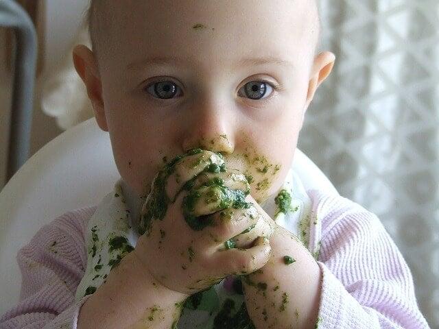 13 consejos de alimentación para bebés hasta 3 años