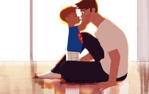 Mi hijo varón también es sensible, afectuoso, cariñoso...