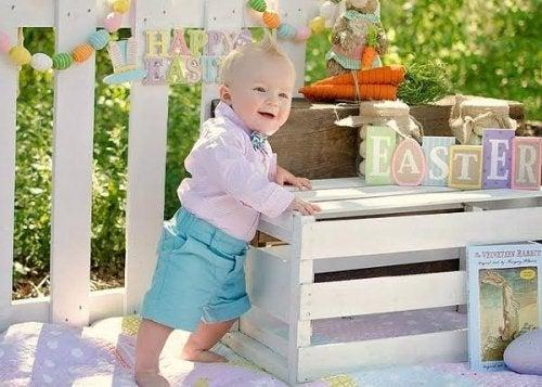 6 logros del bebé al cumplir un año