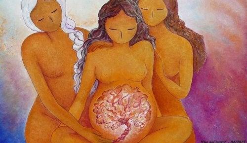 Somos hijas de la Luna, madres y ante todo, mujeres FUERTES