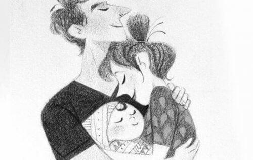 Tú y yo somos padres, pero también somos pareja