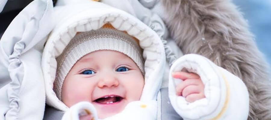 4 consejos para que tu bebé no pase frío