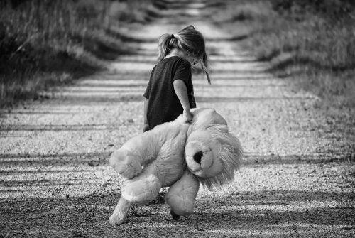 El abandono emocional infantil es un gran dolor.