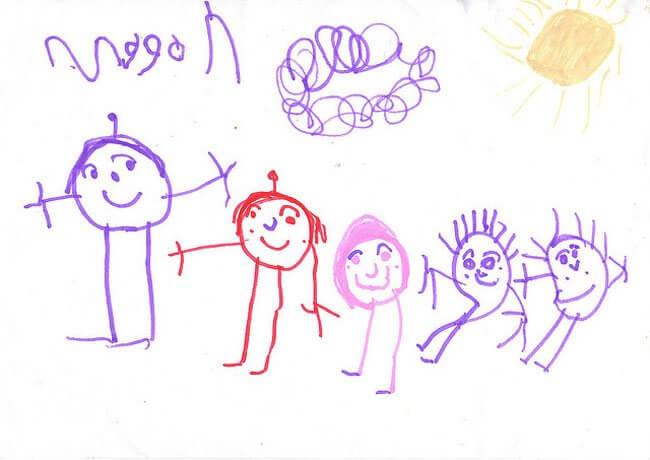 dibujos de tu hijo 1