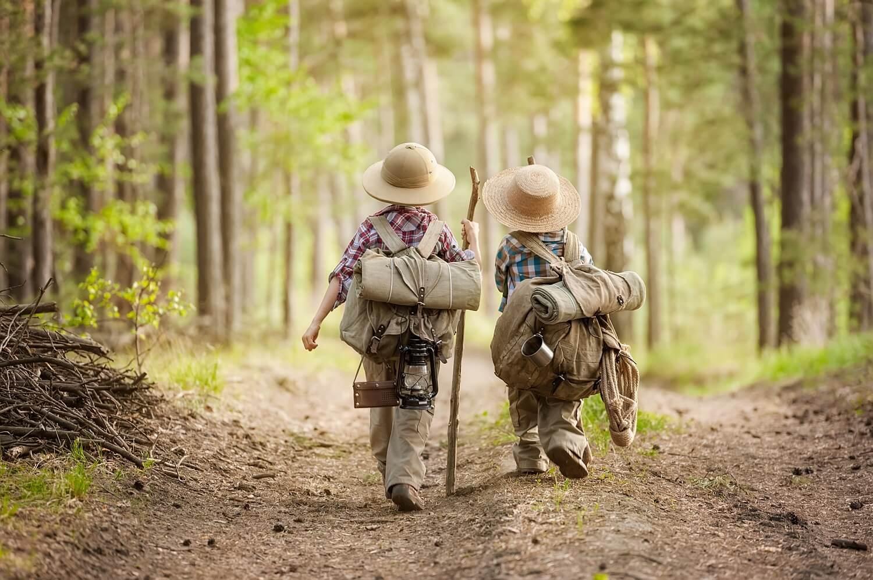 6 consejos de senderismo para familias con niños pequeños