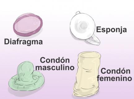 Ilustración de métodos anticonceptivos no hormonales