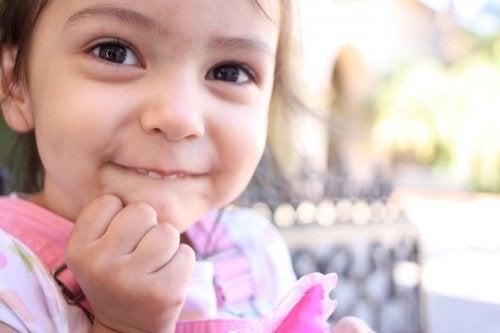 Desde pequeños sus sonrisas ya tienen un gran poder